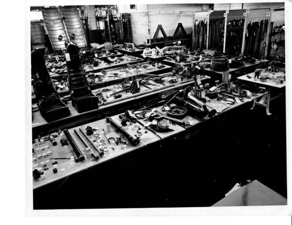 Douglas A-3 Skywarrior Parts on Display