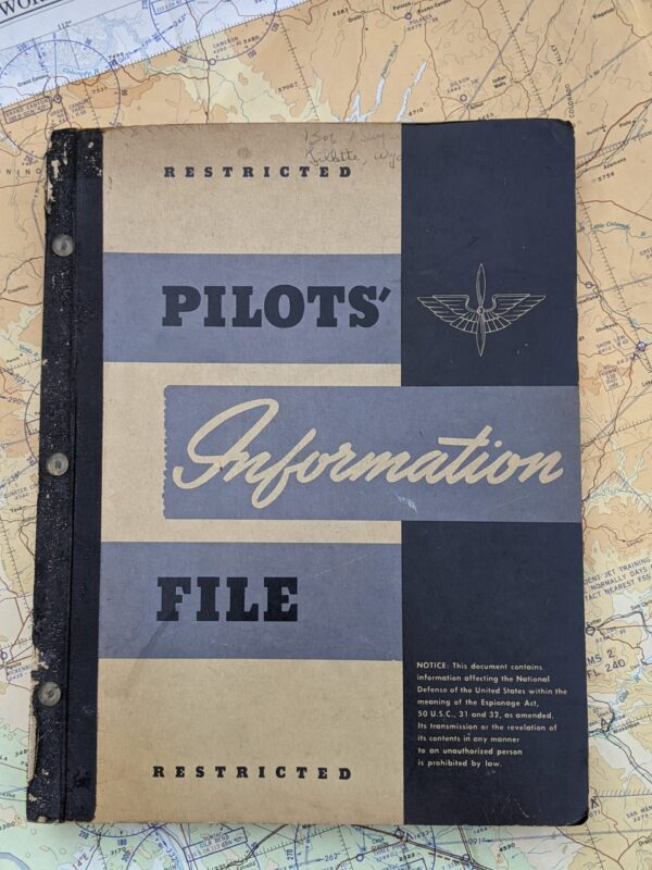 US Army Air Force Pilot Information File