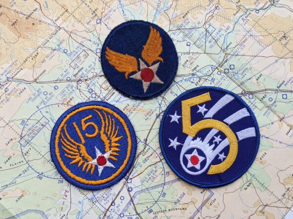 US Army Air Force Patches