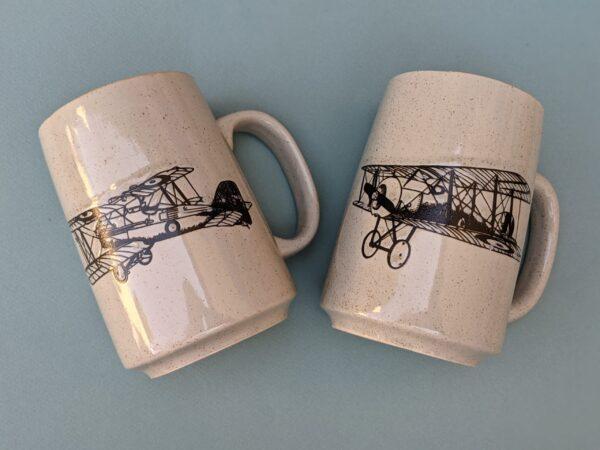 Biplane Coffee Mugs
