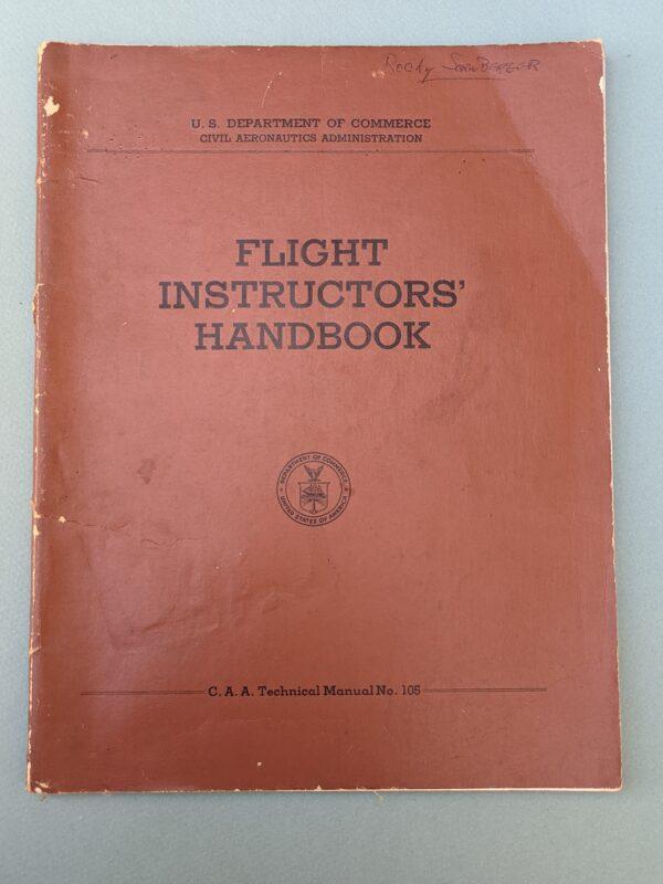 US Dept. of Commerce Flight Instructors' Handbook