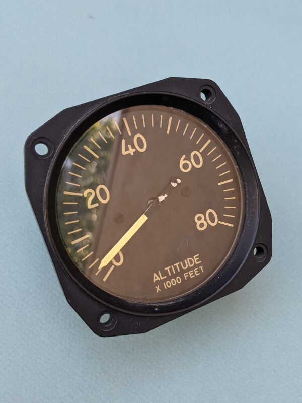Hickok Electronics Altimeter - For Installation In Ground Trainer Only (front)