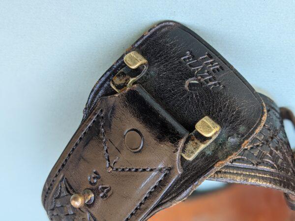 Black Leather Police Utility Belt