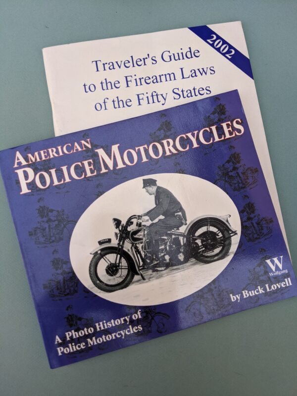 Books, Policy Motorcycles and Travelers Guide to Firearms Laws