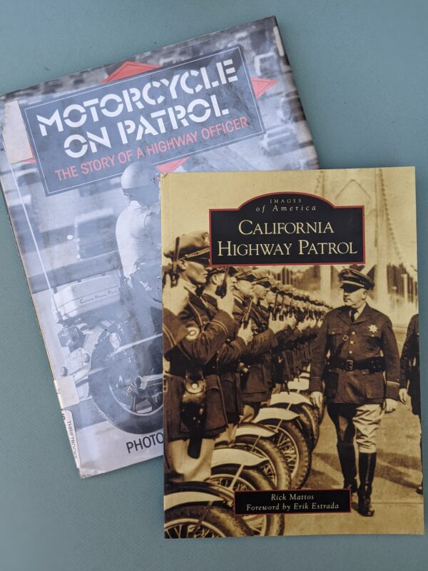 Books, Images of America - California Highway Patrol & Motorcycle on Patrol