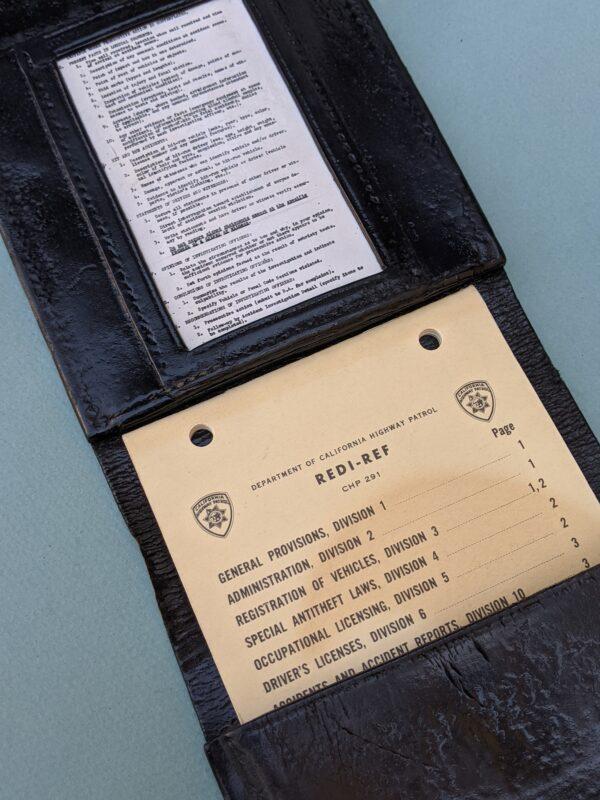 Black Leather Citation Book (inside)