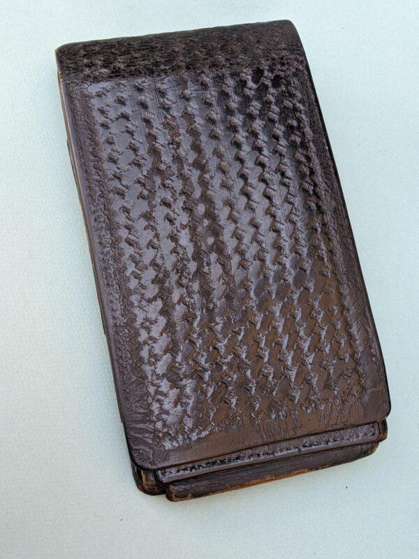 Black Leather Citation Book