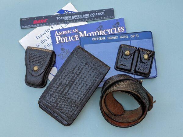 Officer Poncherello California Highway Patrol Theme Box